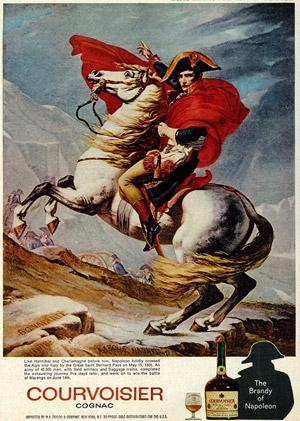 Altherrendrink? Schon Napoleon soll gerne Cognac getrunken haben. (altes Werbeposter. Reproduktion: Classic Film / Flickr.com)